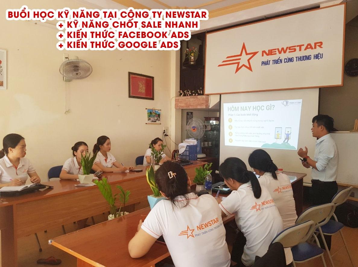 Công ty Newstar tổ chức học thêm nghiệp vụ Marketing Online